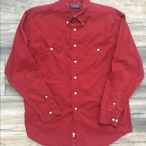 ROUNDTREE & YORK Button Down Shirt Size M Orig $89